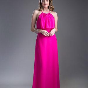 Lace Long Prom Bridesmaid Dress CD13031